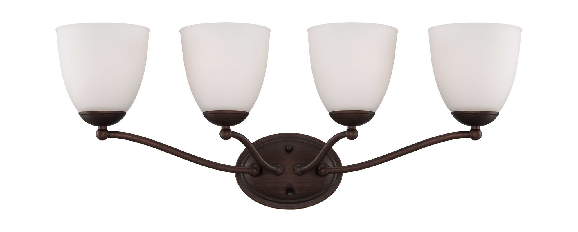 Nuvo Lighting 60/5154 Patton ES Four-Light Bathroom Fixture with