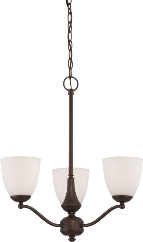 Nuvo Lighting 60/5156 Patton ES Three-Light Single-Tier Chandelier