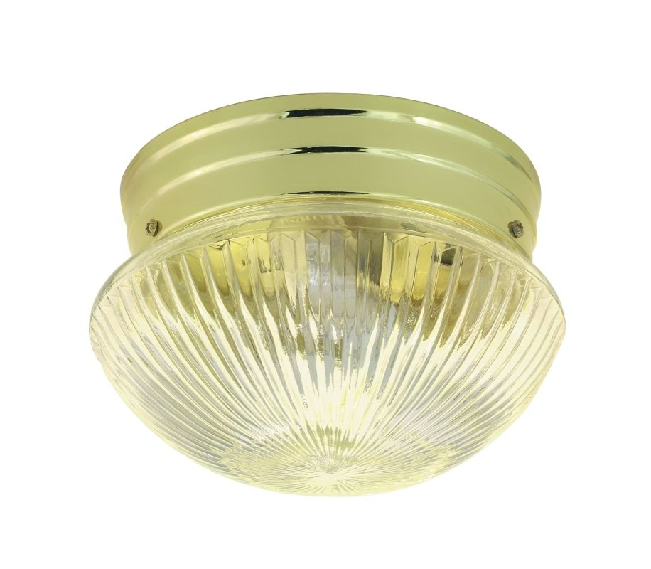 Nuvo Lighting 76/250 1 Light Flush Mount Indoor Ceiling Fixture - 7.5