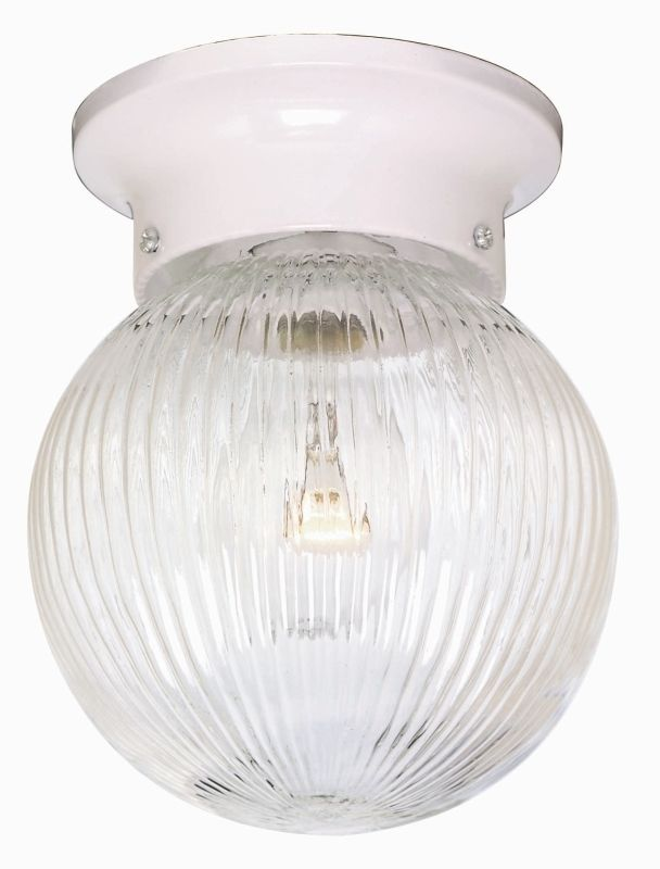 Nuvo Lighting 76/257 1 Light Flush Mount Indoor Ceiling Fixture - 6
