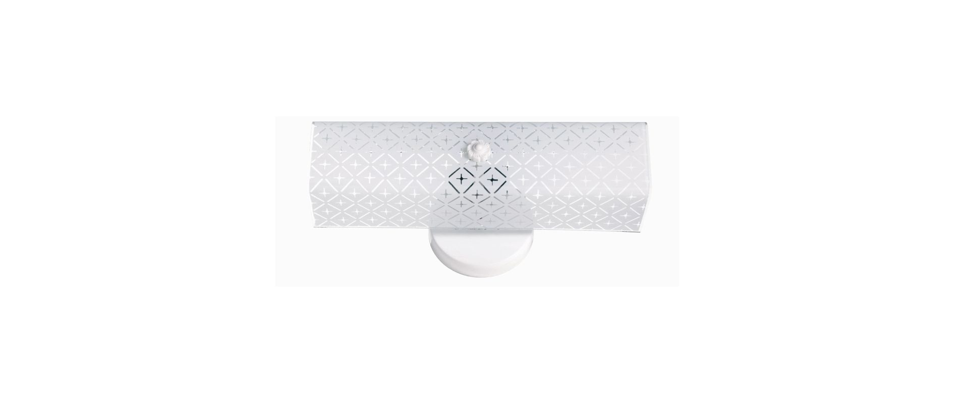 "Nuvo Lighting 76/276 Two Light 14"" Bathroom Fixture with Diamond ""U"""