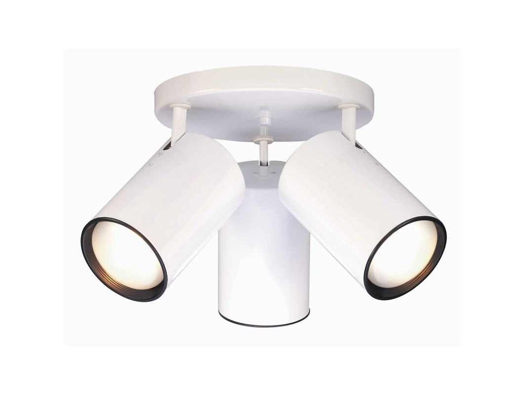 Nuvo Lighting 76/422 3 Light Semi-Flush Indoor Ceiling Fixture - 18