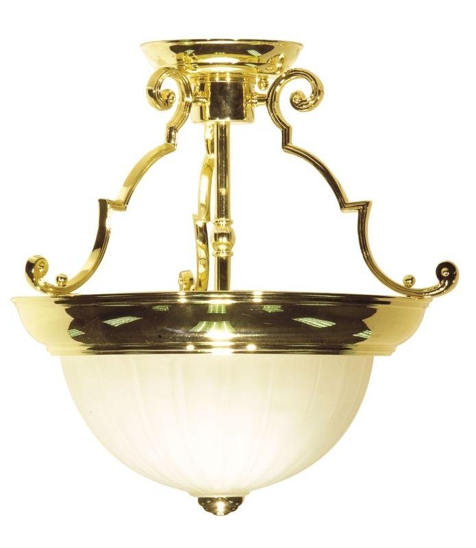 Nuvo Lighting 76/434 2 Light Semi-Flush Indoor Ceiling Fixture - 13 Sale $79.99 ITEM: bci1949387 ID#:SF76/434 UPC: 45923764349 :