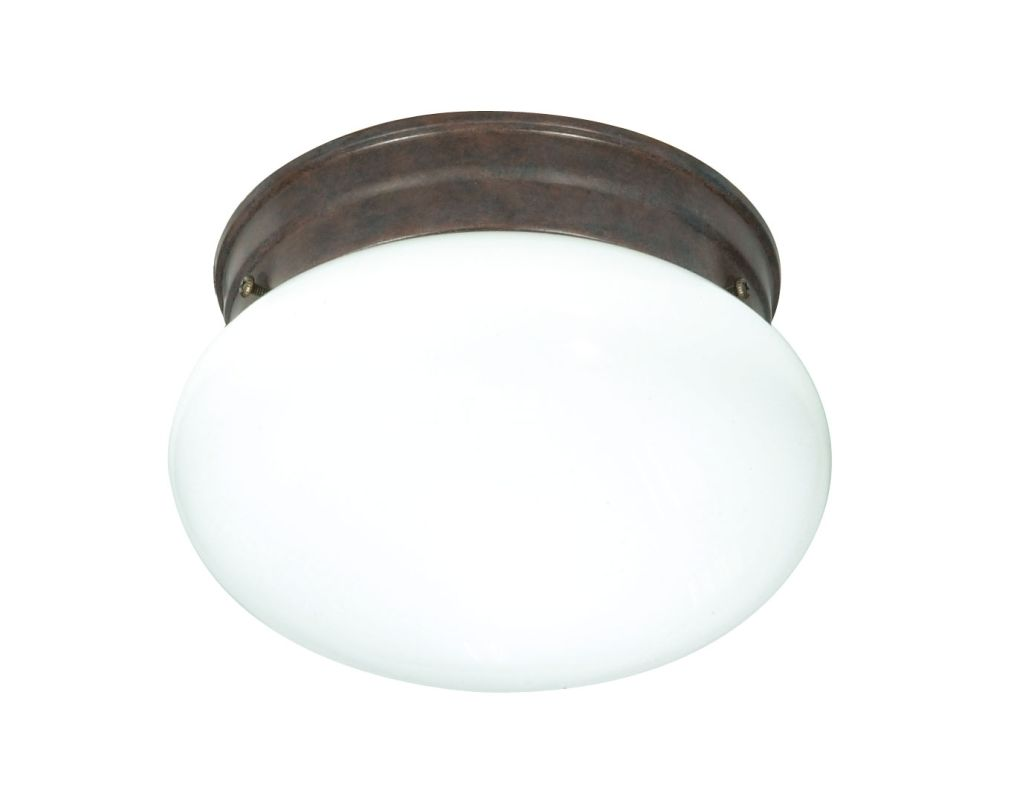 Nuvo Lighting 76/600 1 Light Flush Mount Indoor Ceiling Fixture - 7.5