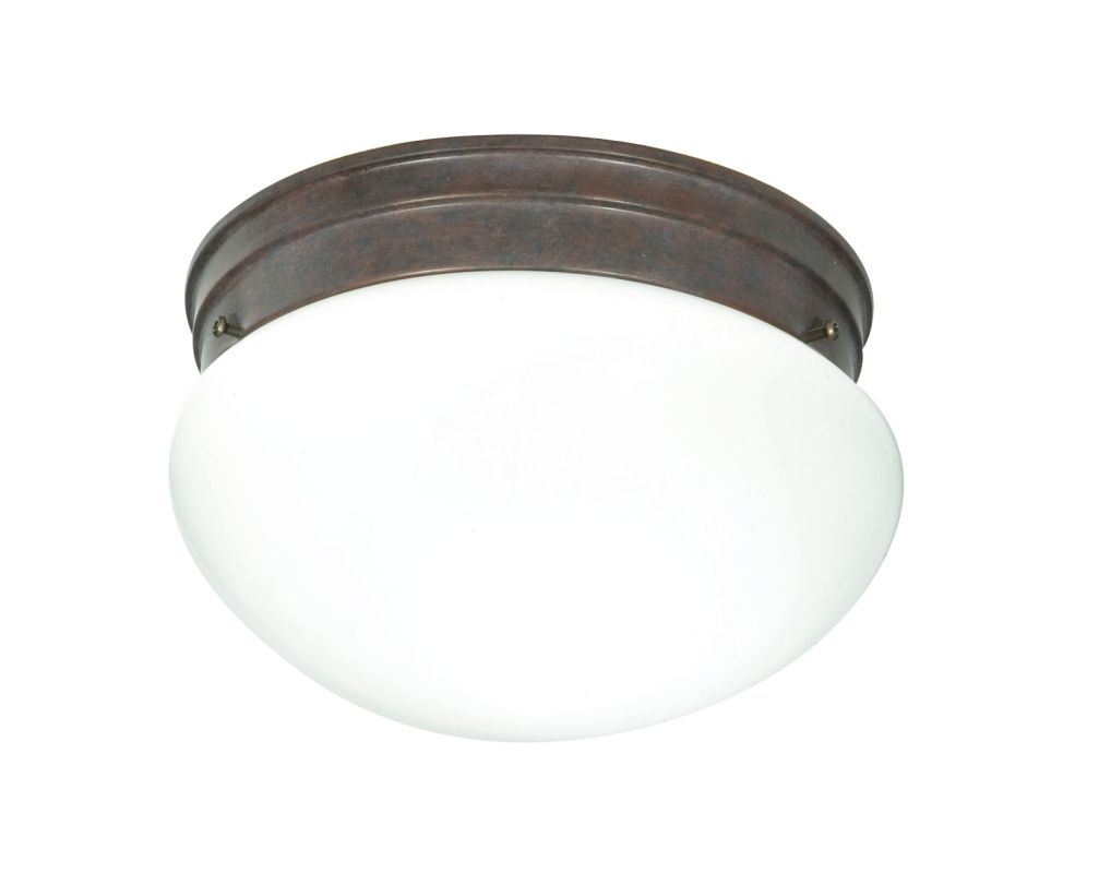 Nuvo Lighting 76/602 2 Light Flush Mount Indoor Ceiling Fixture - 9.5
