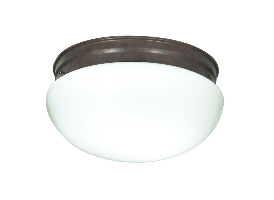 Nuvo Lighting 76/604 2 Light Flush Mount Indoor Ceiling Fixture - 12