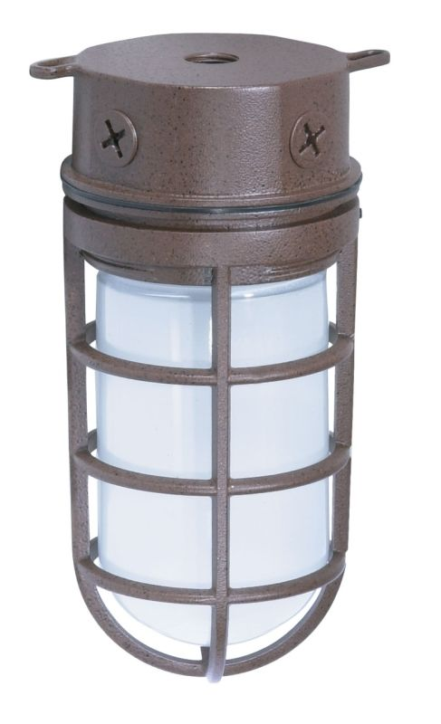 "Nuvo Lighting 76/625 Single Light 10"" 100W Industrial Style Surface"