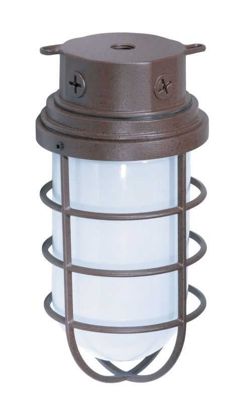 "Nuvo Lighting 76/627 Single Light 10"" 200W Industrial Style Surface"