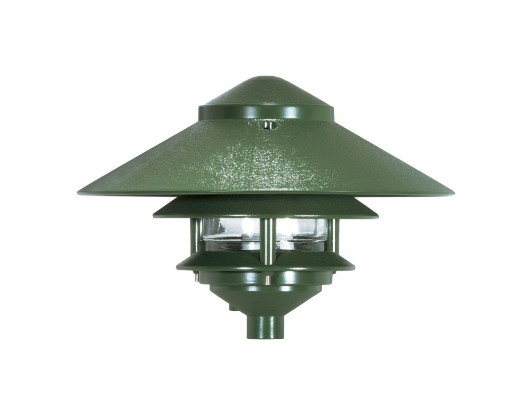 """Nuvo Lighting 76/634 Single Light 8"""" Two Louver Pathway Light with"""
