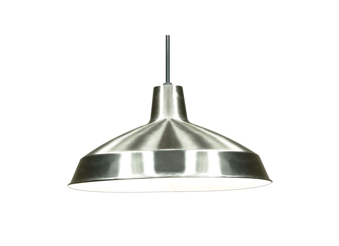 "Nuvo Lighting 76/661 Single Light 16"" Pendant with Warehouse Shade"