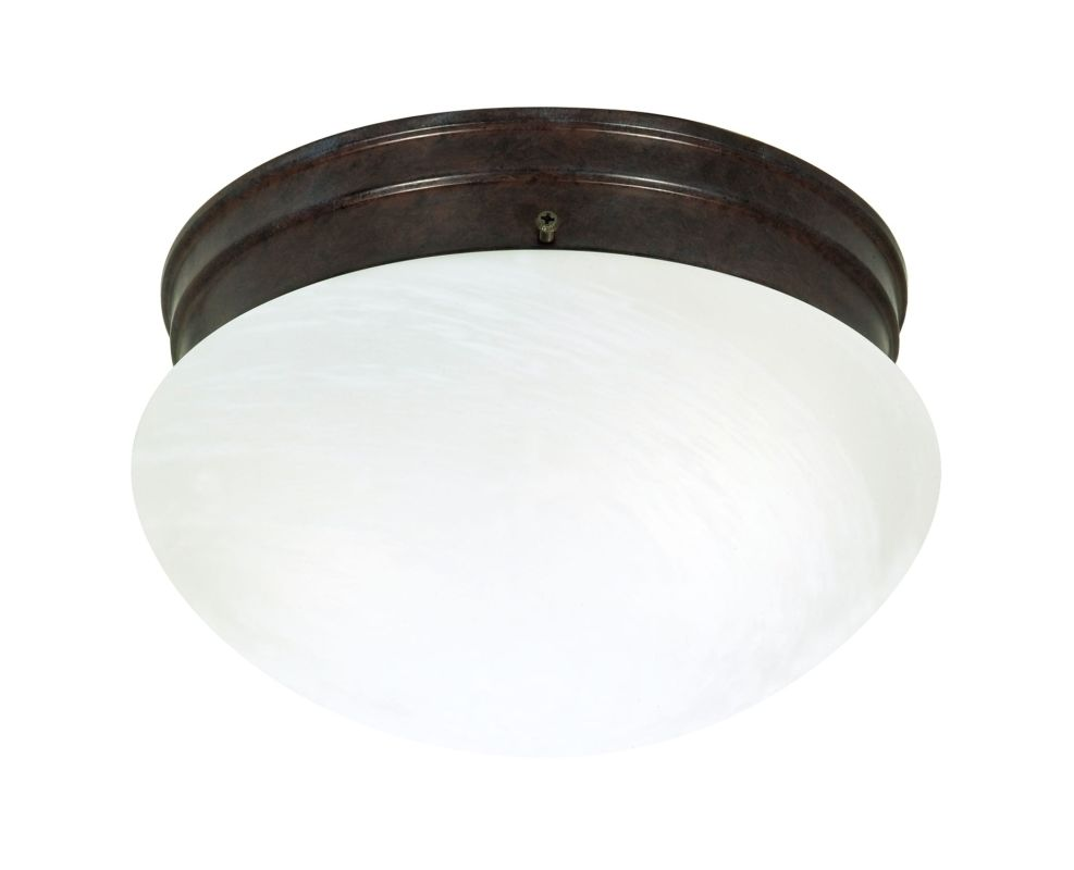 Nuvo Lighting 76/673 2 Light Flush Mount Indoor Ceiling Fixture - 9.5