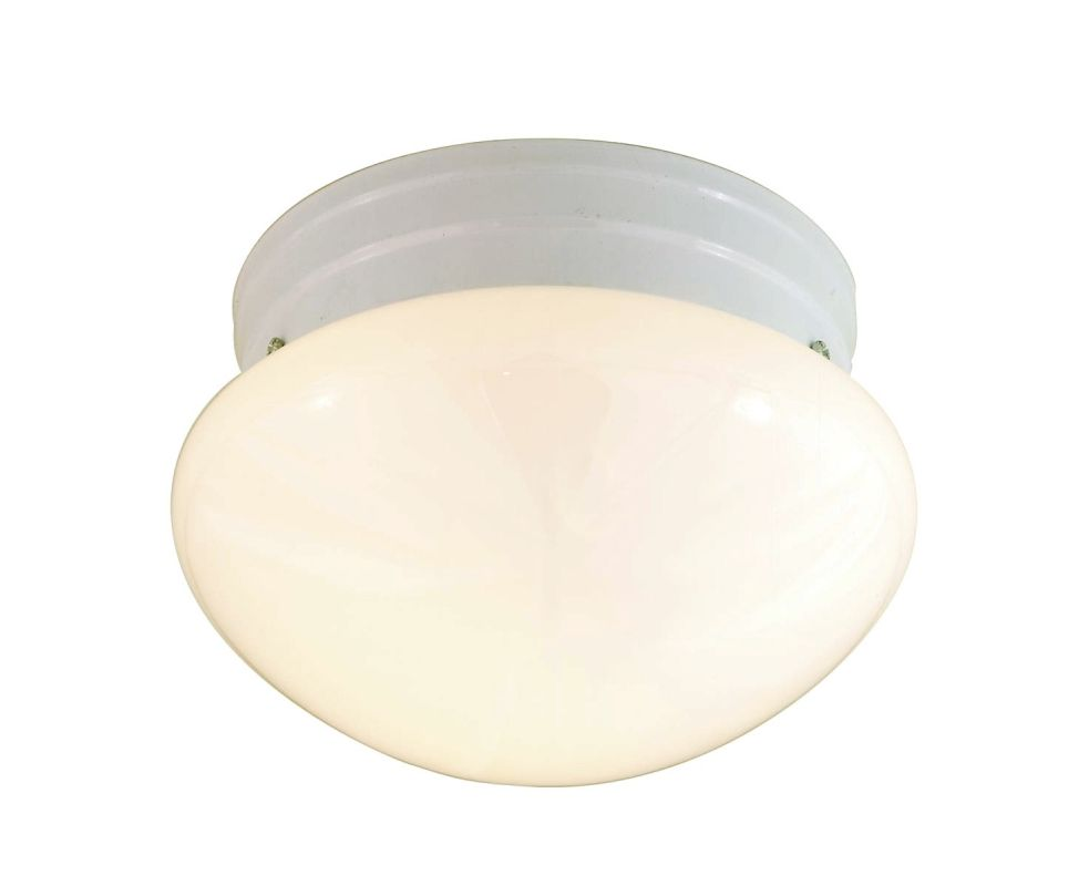 Nuvo Lighting 77/060 1 Light Flush Mount Indoor Ceiling Fixture - 7.5