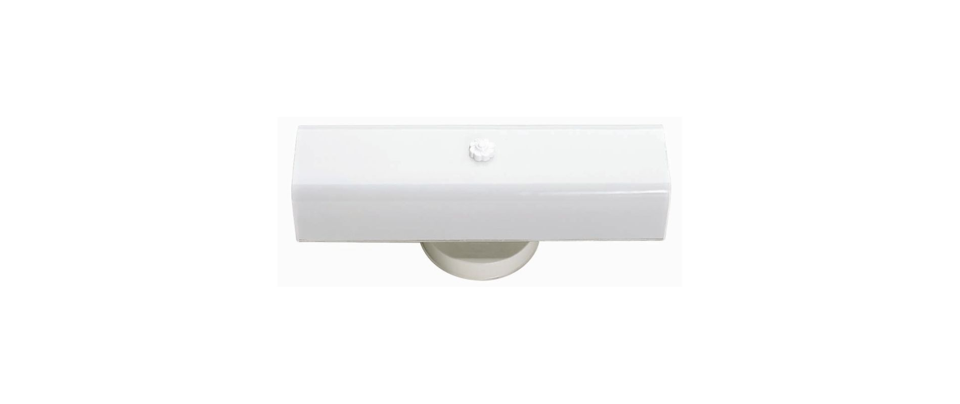 """Nuvo Lighting 77/087 Two Light 14"""" Vanity with White """"U"""" Channel Glass"""