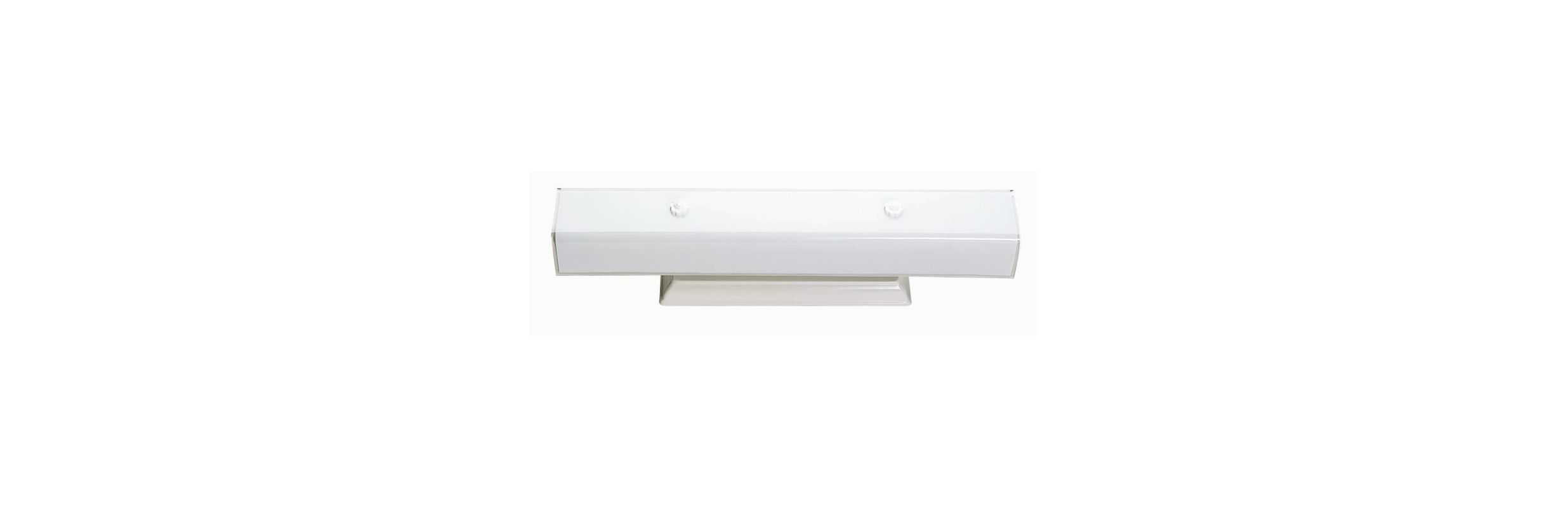 """Nuvo Lighting 77/088 Four Light 24"""" Vanity with White """"U"""" Channel"""