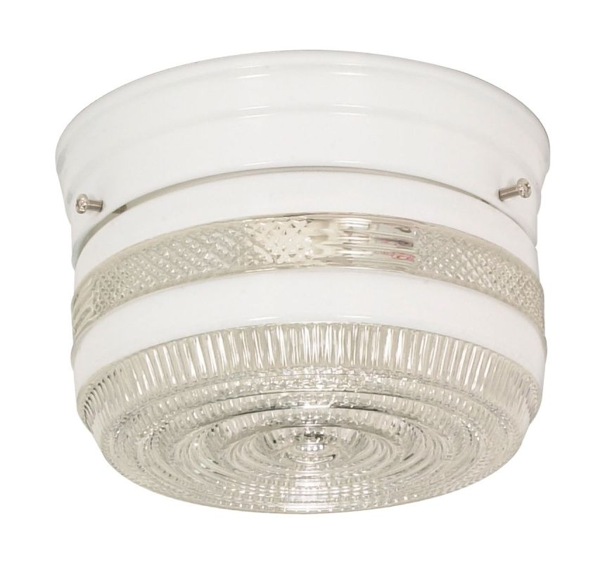 Nuvo Lighting 77/097 1 Light Flush Mount Indoor Ceiling Fixture - 6