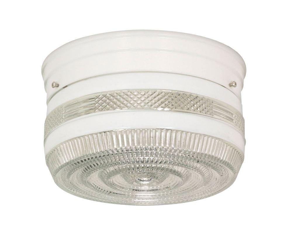 Nuvo Lighting 77/098 2 Light Flush Mount Indoor Ceiling Fixture - 8
