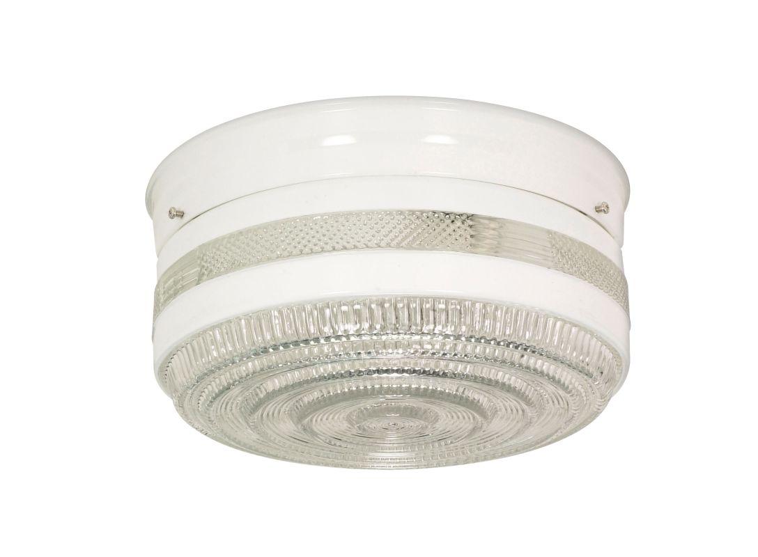 Nuvo Lighting 77/099 2 Light Flush Mount Indoor Ceiling Fixture - 8