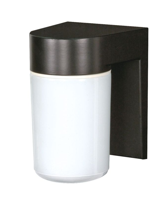 """Nuvo Lighting 77/137 Single Light 8"""" Wall Mounted Utility Fixture with"""