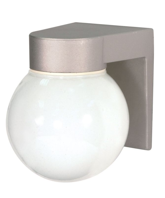 """Nuvo Lighting 77/139 Single Light 8"""" Wall Mounted Utility Fixture with"""