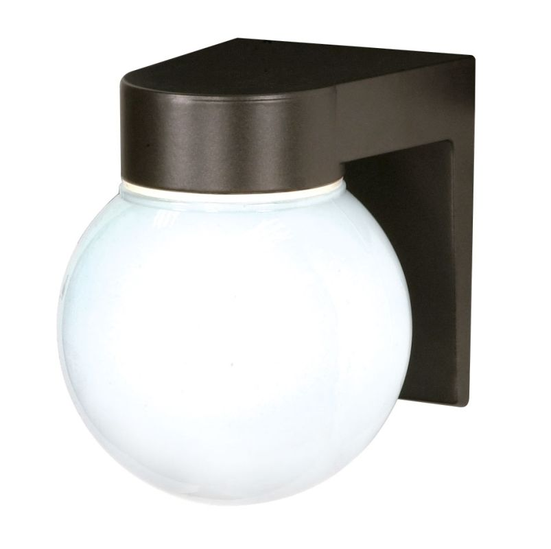 """Nuvo Lighting 77/141 Single Light 8"""" Wall Mounted Utility Fixture with"""