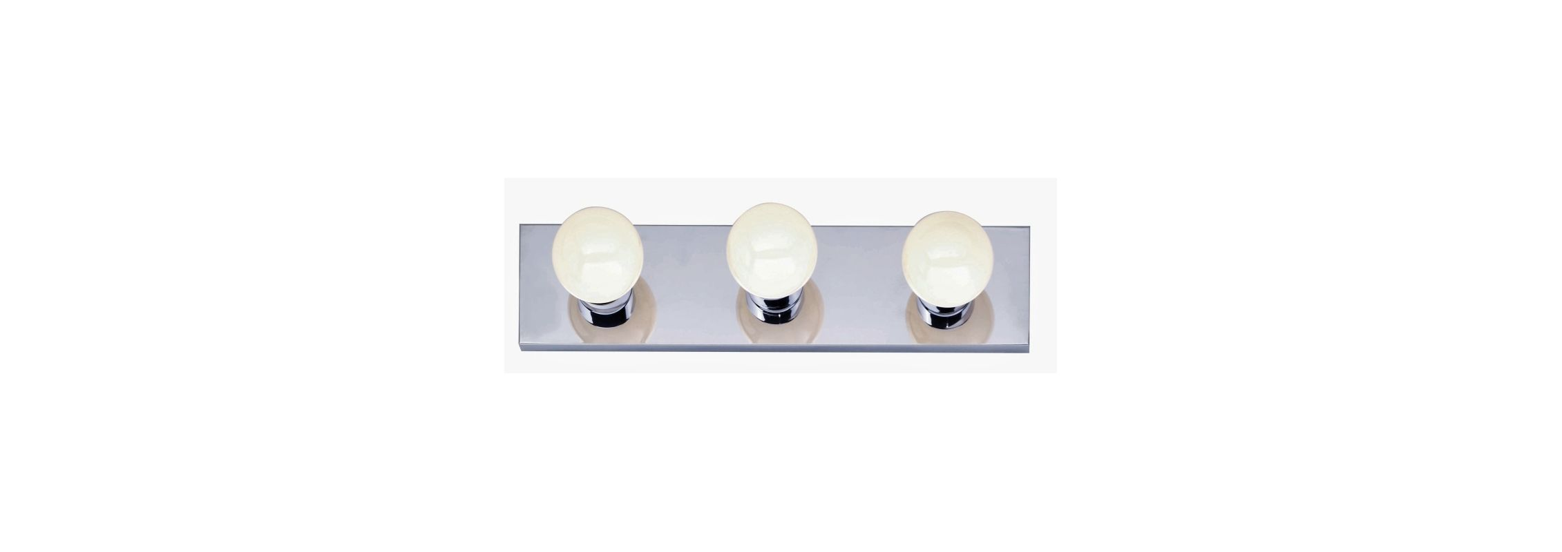 "Nuvo Lighting 77/192 Three Light 18"" Bathroom Bar Light Polished"