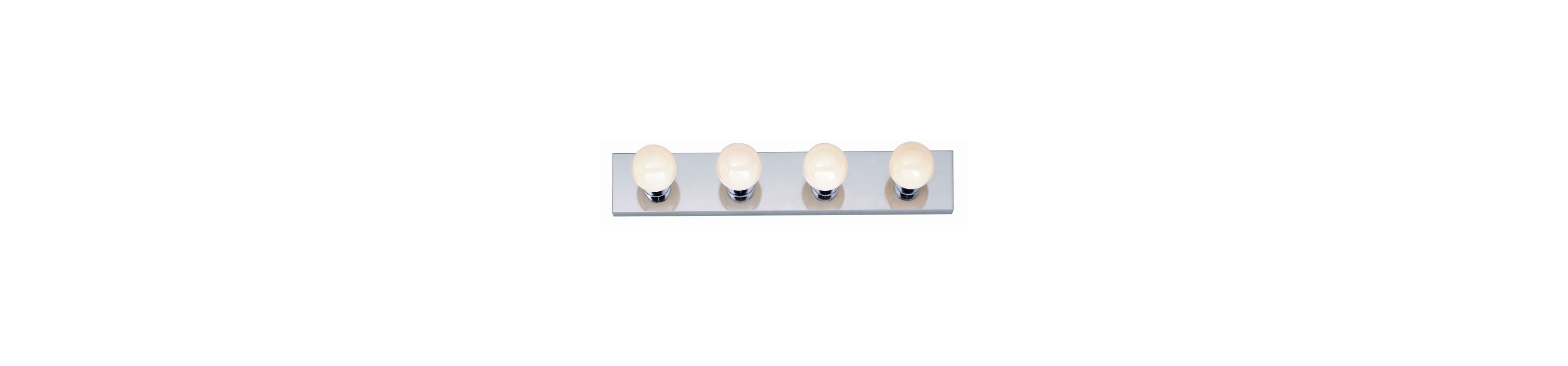 "Nuvo Lighting 77/193 Four Light 24"" Bathroom Bar Light Polished Chrome"