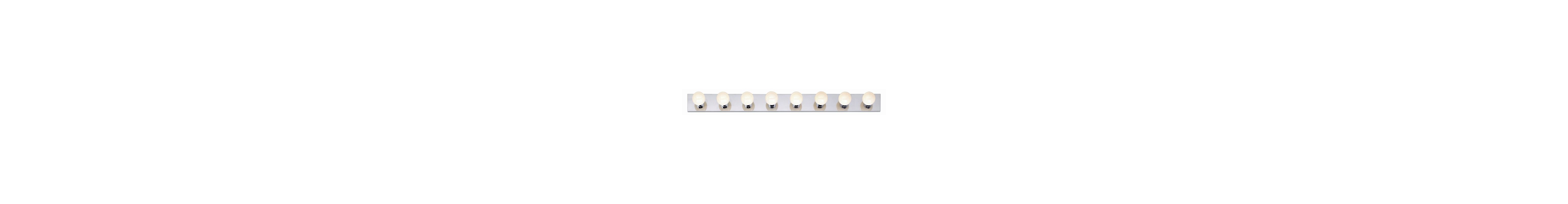 "Nuvo Lighting 77/195 Eight Light 48"" Bathroom Bar Light Polished"