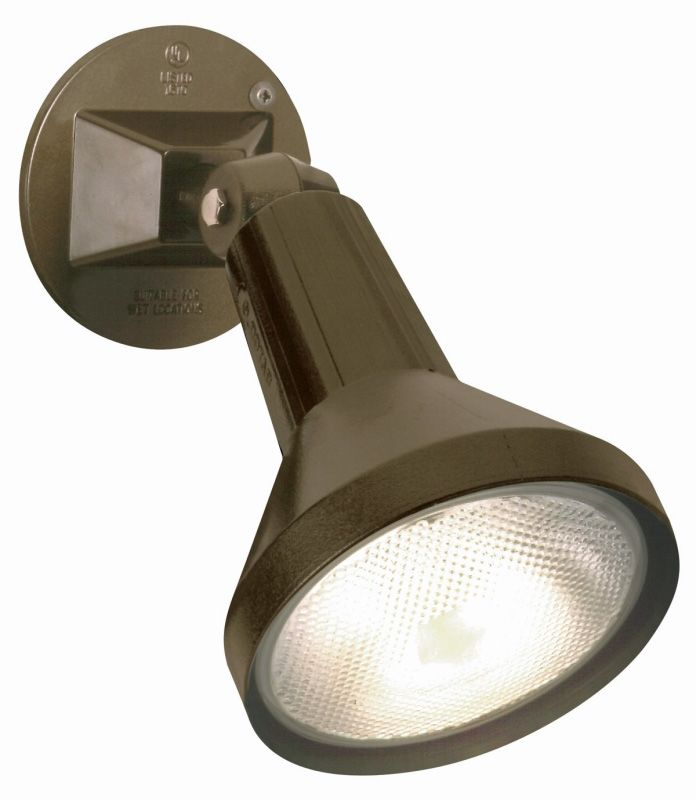 "Nuvo Lighting 77/494 Single Light 8"" PAR38 Exterior Flood Light with"