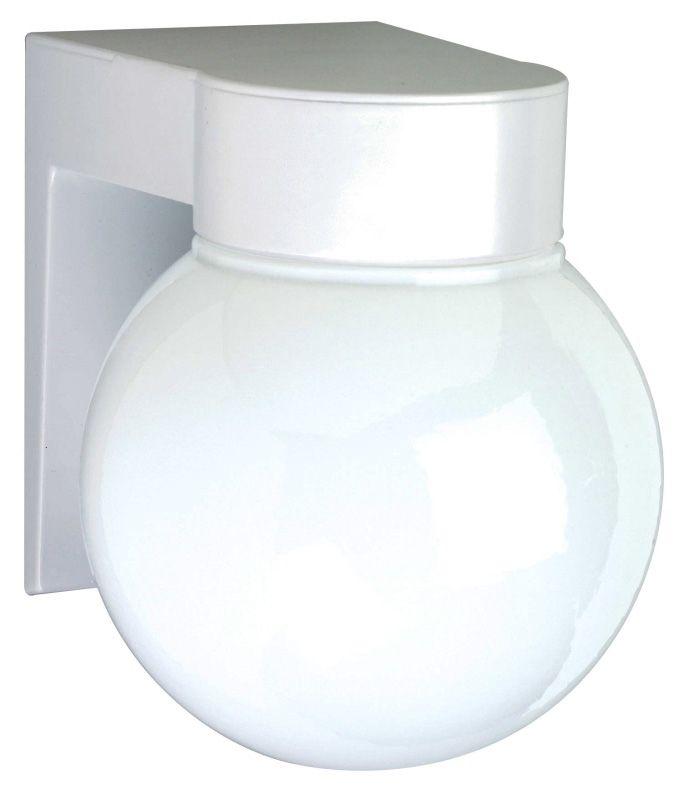 "Nuvo Lighting 77/531 Single Light 8"" Wall Mount Utility Light with"