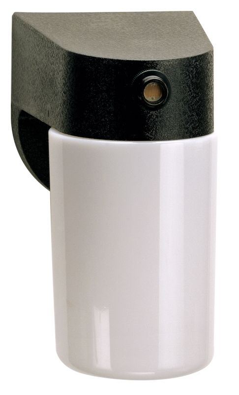 "Nuvo Lighting 77/748 Single Light 8"" Porch Light with Lexan Cylinder"