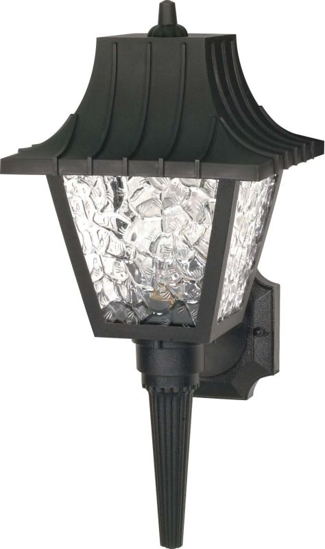 "Nuvo Lighting 77/852 Single Light 18"" Mansard Wall Lantern with"