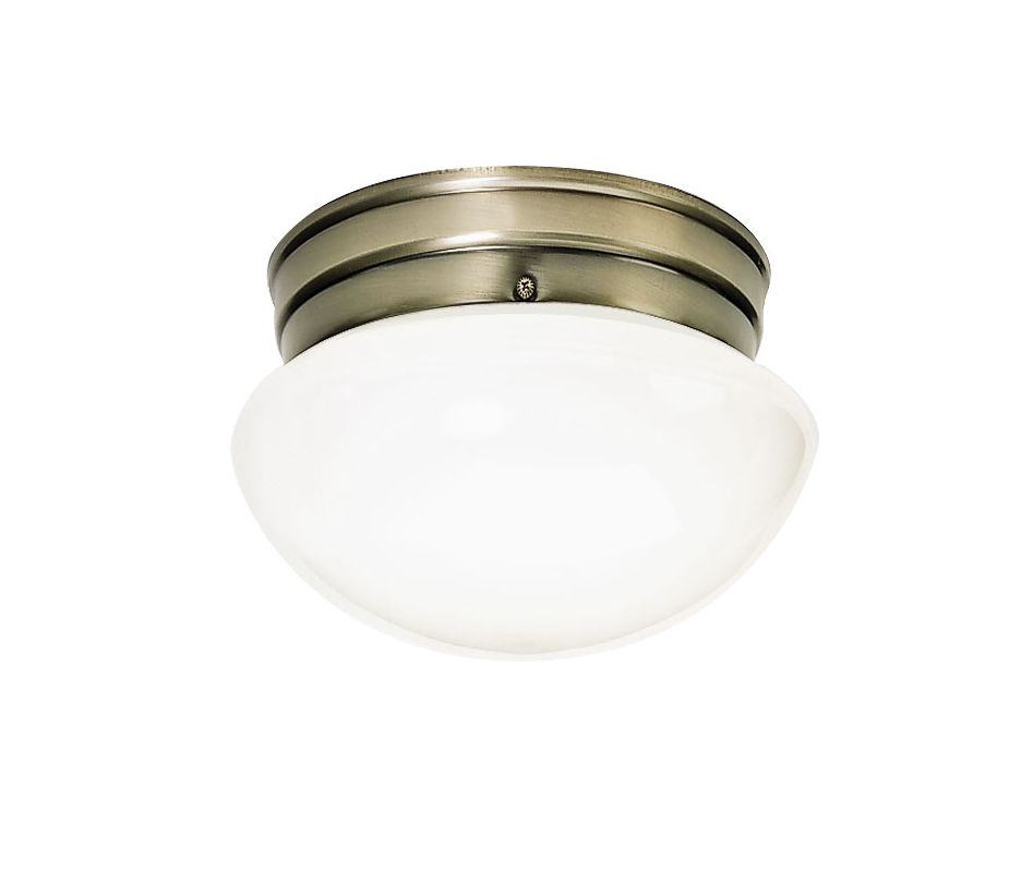 Nuvo Lighting 77/921 1 Light Flush Mount Indoor Ceiling Fixture - 7.5