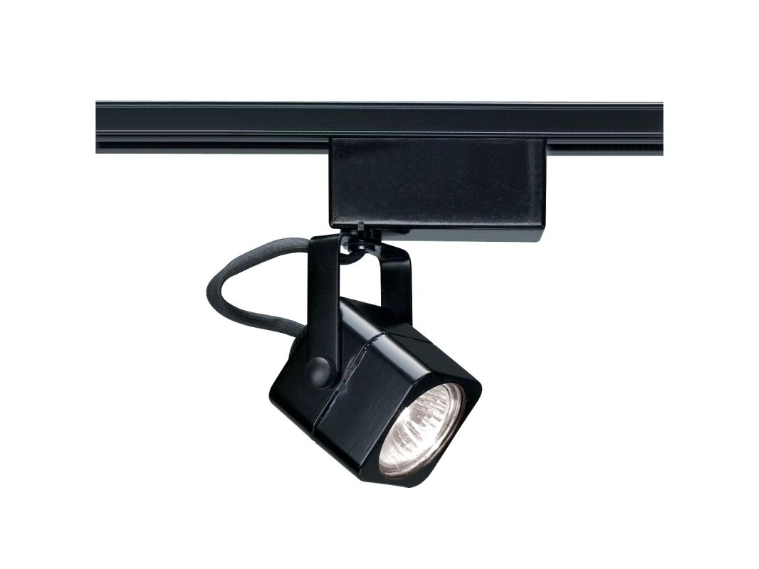 Nuvo Lighting TH233 Single Light MR16 12V Square Track Head Black