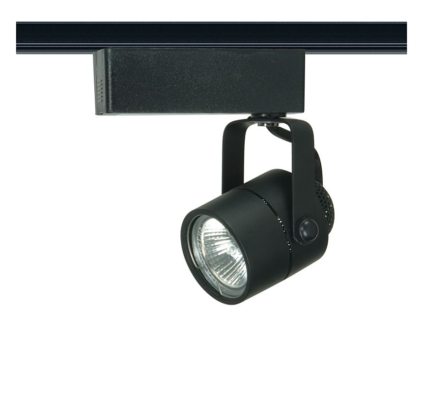 Nuvo Lighting TH235 Single Light MR16 12V Round Track Head Black