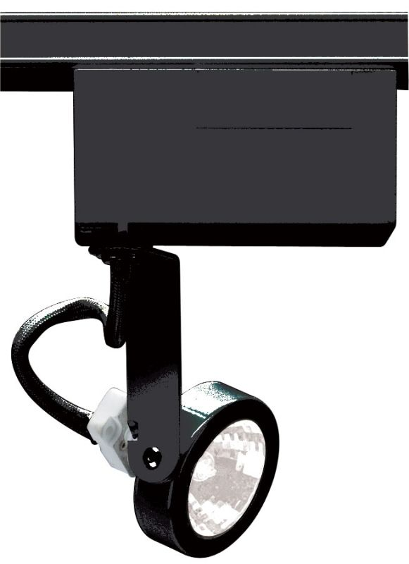 Nuvo Lighting TH239 Single Light MR16 12V Gimbal Ring Track Head Black
