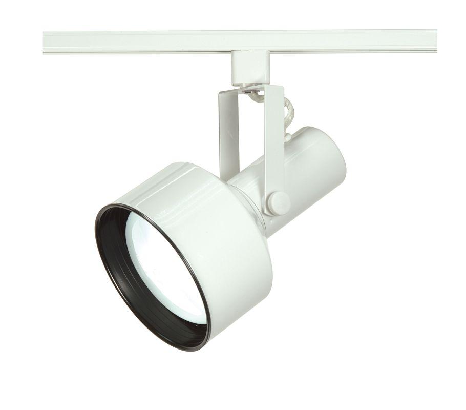 Nuvo Lighting TH281 Single Light R40 Step Cylinder Track Head White