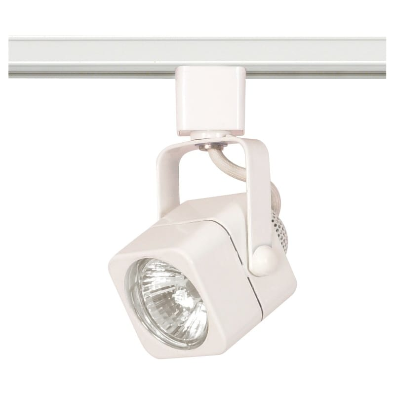 Nuvo Lighting TH312 Single Light MR16 120V Square Track Head White