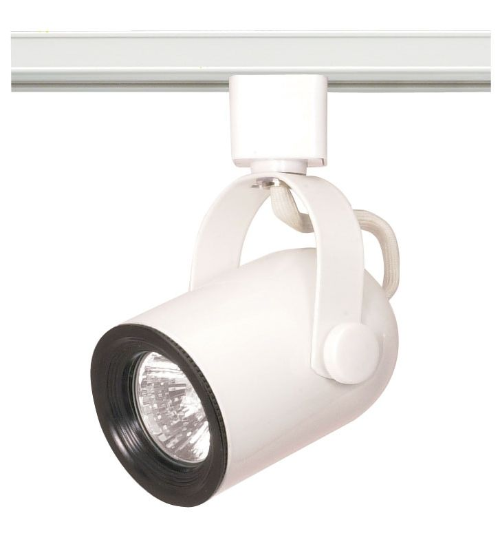 Nuvo Lighting TH315 Single Light MR16 120V Round Back Track Head White