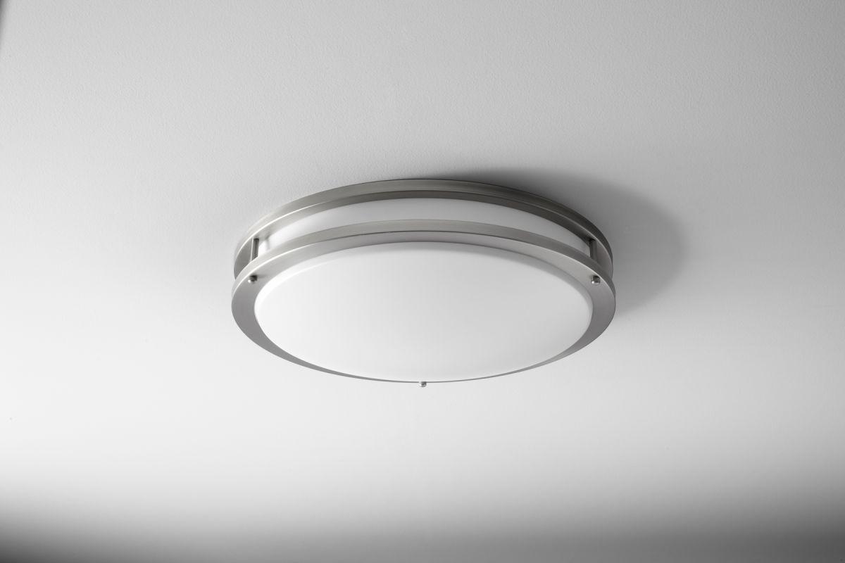 Oxygen Lighting 2-6110 Oracle 2 Light Fushmount Ceiling Fixture Satin Sale $278.00 ITEM: bci2250933 ID#:2-6110-24 :