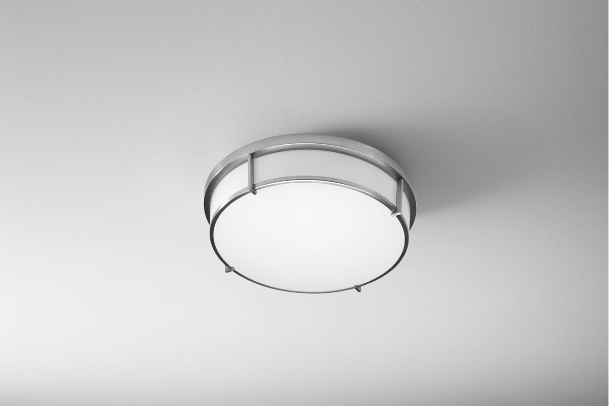 Oxygen Lighting 2-699 iO 2 Light Fushmount Ceiling Fixture Satin