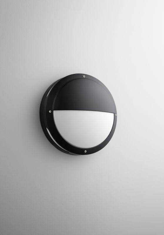 Oxygen Lighting 2-704 Eclipse 2 Light Outdoor Wall Sconce Black