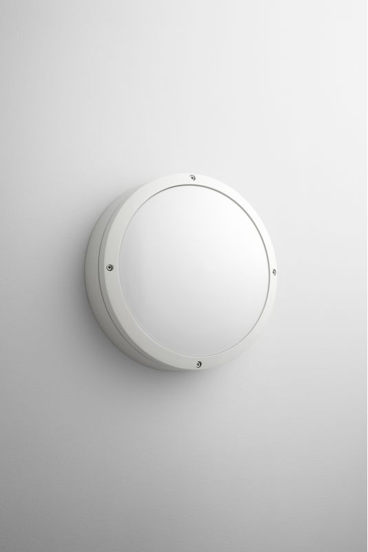 Oxygen Lighting 2-708 Indu 2 Light Outdoor Wall Sconce White Outdoor