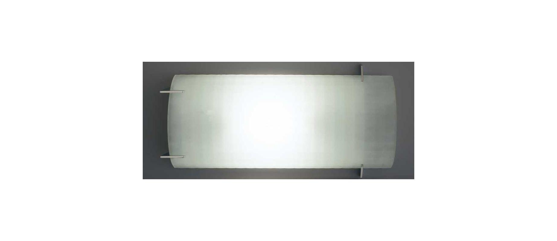 PLC Lighting 12106 PC Polished Chrome Contemporary Contempo Wall Light