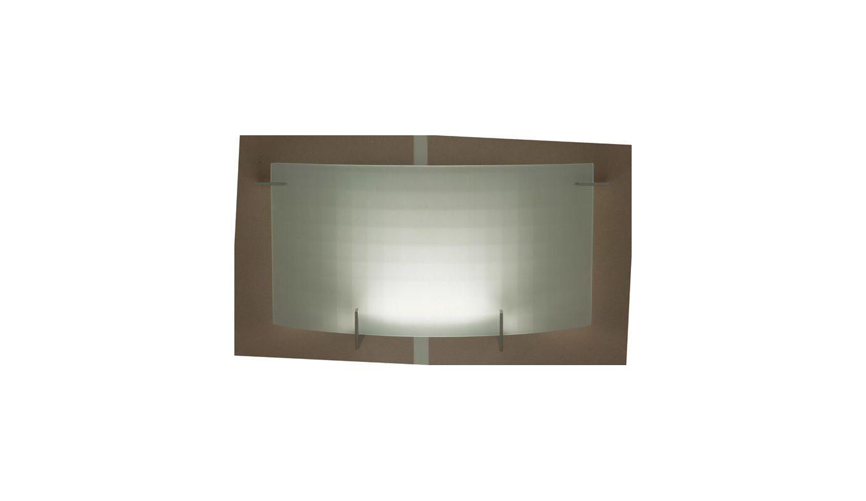 PLC Lighting 12112 PC Polished Chrome Contemporary Contempo Wall Light