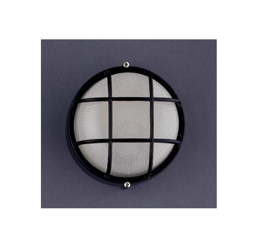 PLC Lighting PLC 1222 Functional Outdoor Wall Sconce from the Marine Sale $48.00 ITEM: bci361478 ID#:1222 BK :