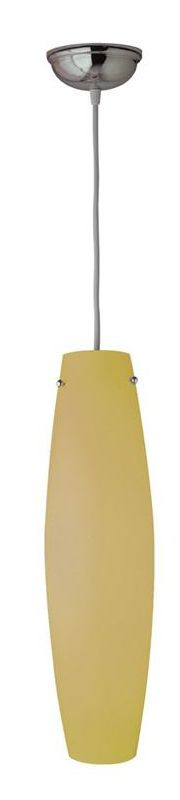 PLC Lighting 1502 AMBER/WH White / Amber Contemporary Volcano Pendant
