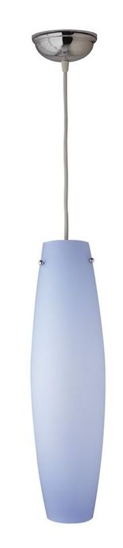PLC Lighting 1502 BLUE/WH White / Blue Contemporary Volcano Pendant