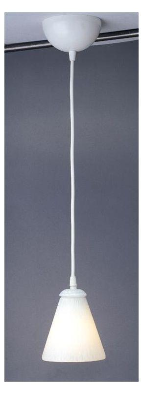 PLC Lighting 1700 WH/WH White / White Contemporary Rio II Pendant