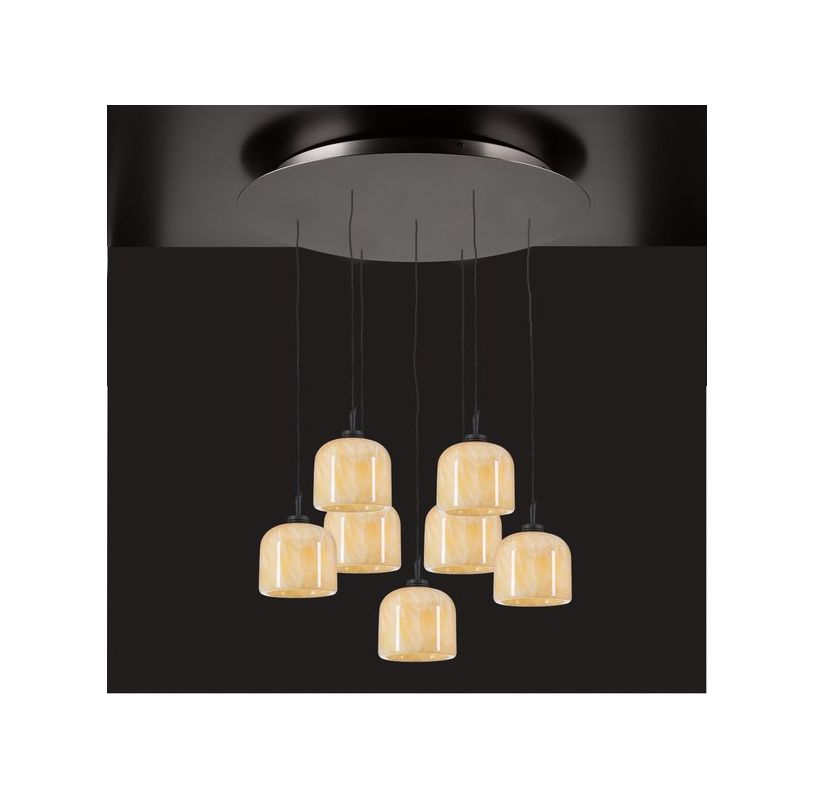 PLC Lighting PLC 2827 Seven Light Full Sized Pendant from the Cuttle Sale $990.00 ITEM: bci1605736 ID#:2827 ORB :
