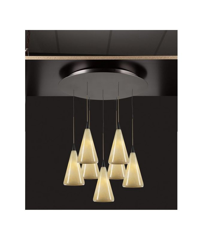PLC Lighting 2837 ORB Oil Rubbed Bronze Contemporary Caroline Pendant Sale $1490.00 ITEM: bci1605737 ID#:2837 ORB :